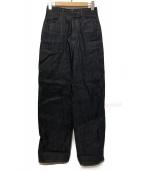 ENFOLD(エンフォルド)の古着「デニムパンツ」|インディゴ