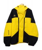 NIKE ACG(ナイキエーシージ)の古着「ACG Gore-Tex Jacket」|イエロー×ブラック