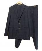 BOGLIOLI(ボリオリ)の古着「セットアップスーツ」 ネイビー