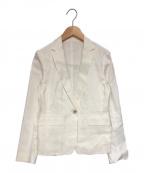 UNITED ARROWS TOKYO()の古着「テーラードジャケット」|ホワイト