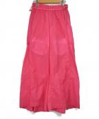 kei shirahata(ケイシラハタ)の古着「ナイロンパンツ」 ピンク