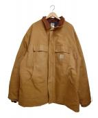 CarHartt(カーハート)の古着「ワークジャケット」 ベージュ