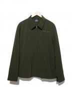 APPLEBUM(アップルバム)の古着「Sports Shirt Jacket」|オリーブ