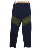 APPLEBUM(アップルバム)の古着「By Color Pants」|ブラック