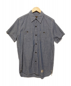 WACKO MARIA(ワコマリア)の古着「半袖シャツ」 スカイブルー