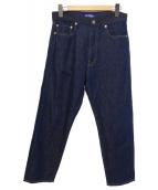 CDG JUNYA WATANABE MAN(コムデギャルソン ジュンヤワタナベマン)の古着「リネン混パンツ」 ブルー