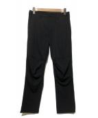 COMME des GARCONS Homme Plus(コムデギャルソンオムプリュス)の古着「ウールギャバパンツ」|ブラック