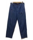 COMME des GARCON JUNYA WATANABE MAN(コムデギャルソン ジュンヤワタナベマン)の古着「デニムパンツ」 ブルー