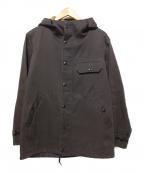 PHIGVEL MAKERS(フィグベルマーカーズ)の古着「フーデッドジャケット」|ブラウン