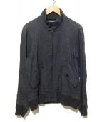 YAECA(ヤエカ)の古着「リネンドリズラージャケット」|ブラック