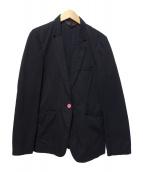 ()の古着「コットンテーラードジャケット」 ブラック
