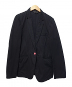 COMME des GARCONS HommePlus(コムデギャルソンオムプリュス)の古着「コットンテーラードジャケット」|ブラック