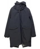 Deluxe Clothing(デラックス クロージング)の古着「ライナー付きナイロンモッズコート」|ブラック