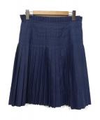JIL SANDER NAVY(ジルサンダーネイビー)の古着「プリーツスカート」|ネイビー