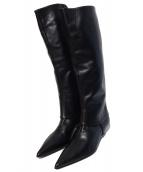 ()の古着「ロングブーツ」|ブラック