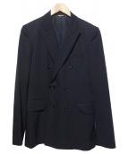 COMME des GARCONS Homme Plus(コムデギャルソンオムプリュス)の古着「ダブルジャケット」|ブラック