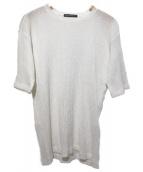 ISSEY MIYAKE MEN(イッセイミヤケメン)の古着「プリーツカットソー」|ホワイト