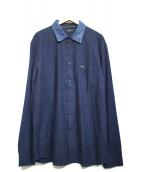 DIESEL(ディーゼル)の古着「デニムカラーシャツ」|ブルー