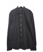 DIESEL(ディーゼル)の古着「デニムシャツ」|ブラック