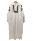 sara mallika(サラマリカ)の古着「シャツワンピース」|ホワイト