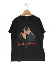 MIU MIU (ミュウミュウ) KissesジャージーTシャツ ブラック サイズ:L