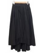 MADISON BLUE(マディソンブルー)の古着「タックボリュームスカート」|ブラック