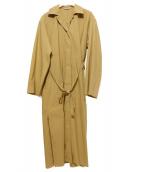 AURALEE(オーラリー)の古着「Selvedge Weather Cloth Longshi」 ブラウン