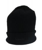 Supreme(シュプリーム)の古着「スクリプトロゴルーズゲージニット帽」|ブラック