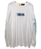 MintCrew(ミントクルー)の古着「長袖カットソー」|ホワイト