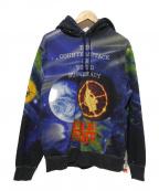 Supreme×Undercover(シュプリーム×アンダーカバー)の古着「Public Enemy Hooded パーカー」|ブラック