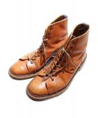 Trickers(トリッカーズ)の古着「モンキーブーツ」 ブラウン