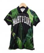 MARK&LONA(マークアンドロナ)の古着「ポロシャツ」|グリーン
