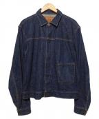 BLACK SIGN(ブラックサイン)の古着「デニムジャケット」|ブルー
