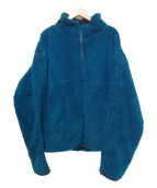 SYU.(シュウ)の古着「ボアフリースジャケット」|ブルー