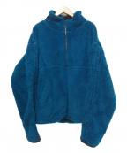 SYU.(シュウ)の古着「ボアフリースジャケット」 ブルー
