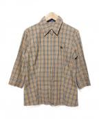 BURBERRY BLUE LABEL()の古着「バーバリーチェックシャツ」|ベージュ