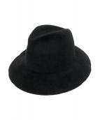 Yohji Yamamoto pour homme(ヨウジヤマモトプールオム)の古着「ハット」|ブラック