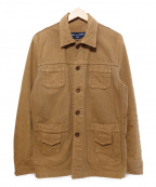 COMME des GARCONS HOMME(コムデギャルソン オム)の古着「ワークジャケット」|ベージュ