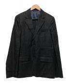 agnes b homme(アニエスベーオム)の古着「リネンテーラードジャケット」|ブラック