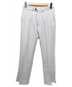 KAIKO(カイコー)の古着「フレアトラウザー」|グレー