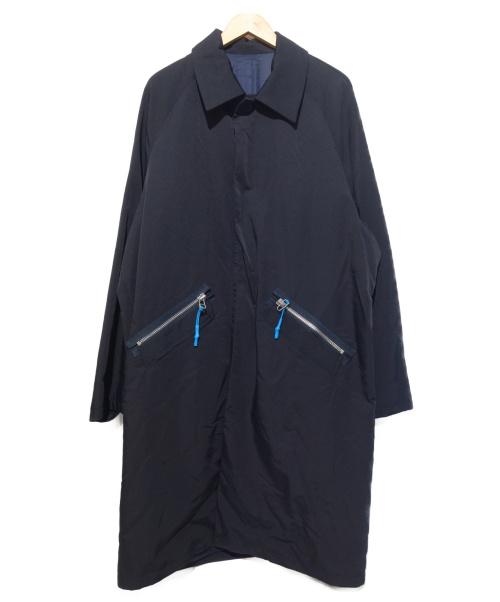 Name.(ネーム)Name. (ネーム) C/N HARD FINISHED CLOTH OVER C ネイビー サイズ:1の古着・服飾アイテム
