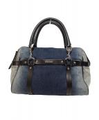DIESEL(ディーゼル)の古着「デニム2WAYバッグ」|ブルー