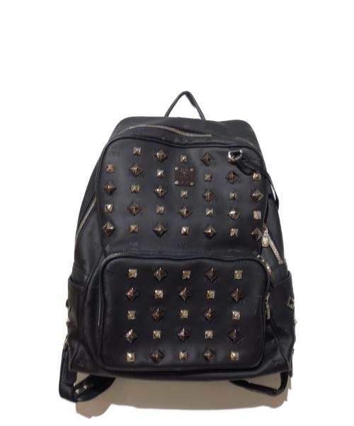 MCM(エムシーエム)MCM (エムシーエム) バックパック ブラック MMK1SVH01BK001 U3102の古着・服飾アイテム