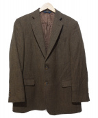 346 BROOKS BROTHERS(346 ブルックスブラザーズ)の古着「ウールテーラードジャケット」|ブラウン