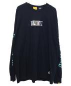 MintCrew(ミントクルー)の古着「長袖Tシャツ」|ブラック