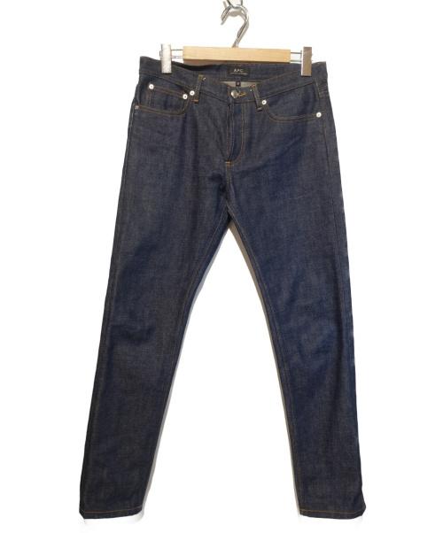 A.P.C.(アーペーセー)A.P.C. (アーペーセー) リジットデニムパンツ インディゴ サイズ:30 PETIT NEW STANDARDの古着・服飾アイテム