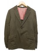 ()の古着「テーラードジャケット」 オリーブ