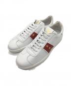 Pantofola dOro(パントフォラドーロ)の古着「レザーローカットスニーカー」|ホワイト