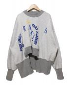 77circa(ナナナナサーカ)の古着「リメイクスウェット」|グレー