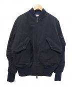 CMMN SWDN(コモン スウェーデン)の古着「ボンバージャケット」|ブラック